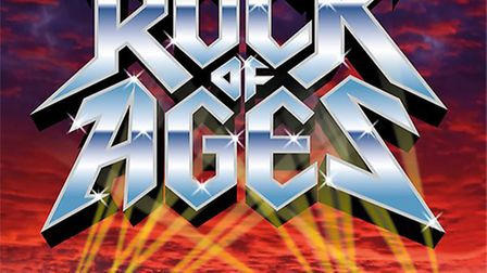 Rock of Ages set for Angles Theatre, Wisbech.