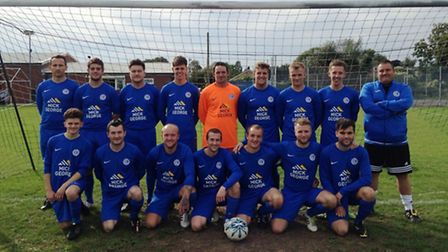 Outwell Swifts in their newly-sponsored kit.