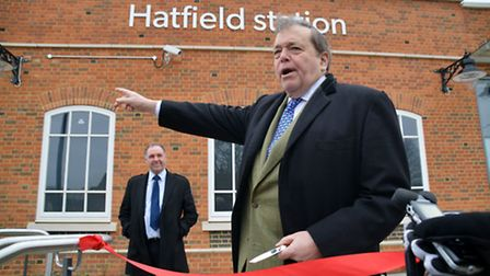 Lord Salisbury official opens the station