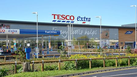 Tesco Extra, Cromwell Road, Wisbech. Picture: Steve Williams.