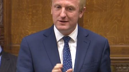 Oliver Dowden speaking at the House of Commons