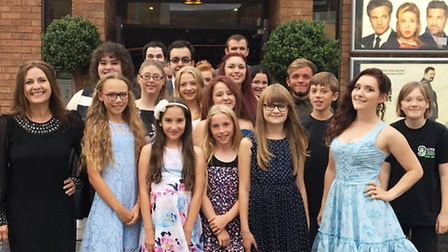 Cats Whiskers students and The Luxe Wisbech staff