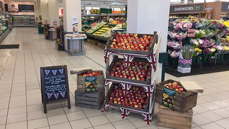 Morrisons Wisbech to trial local apples.