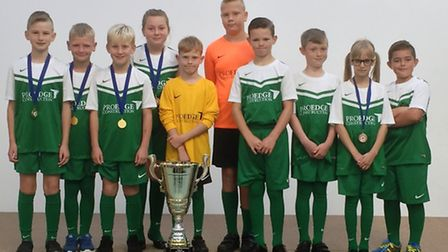 The Smooga Cup winners, Orchards Primary School.