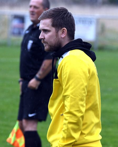Wisbech St Mary manager, Arran Duke.