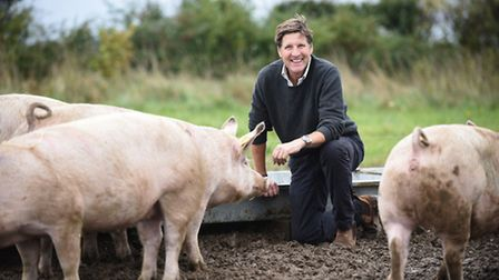 Steve Hart has won the title of national Pig Farmer of the Year. Picture: Ian Burt