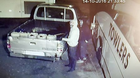 CCTV shared of fuel thefts in Emneth.