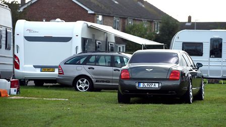 Residents say they have been assured that a make shift caravan site set up next to the Oasis Centre