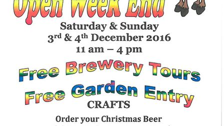 Wisbech brewery Elgood & Sons to open for free Christmas Special Weekend