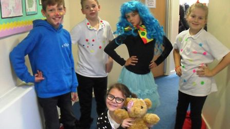 Children at Anthony Curton and Tilney All Saints primary schools raised over £300 for Children in Ne