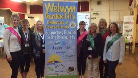 Welwyn Garden City Children's Centre Group hosted the event