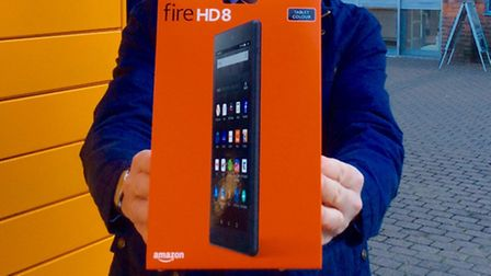Horsefair shoppers could win an Amazon Fire HD8 Tablet on Black Friday.