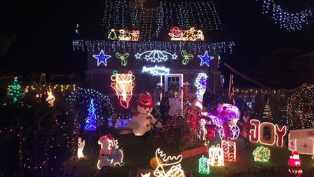 Elm Charity Xmas Lights will now also be raising money to help the victim of the Elm robbery