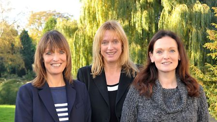 Elgoods directors shows (left to right) Claire Simpson, Belinda Sutton & Jennifer Everall. The sist
