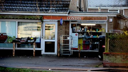 The Elm Londis and Post Office.