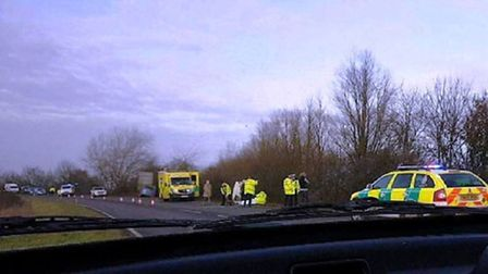 Person seriously injured after collision on A141 between March and Wimblington.
