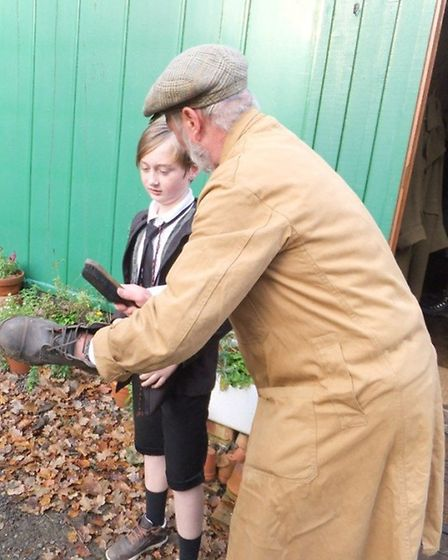 Pupils from the sister schools of Anthony Curton Primary and Tilney All Saints Primary visited the H