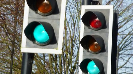 Disruption has been blamed on a traffic light problem