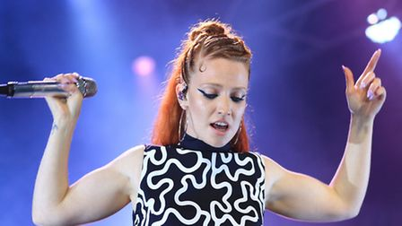 Jess Glynne on stage at Standon Calling 2016 [Picture: Kevin Richards]
