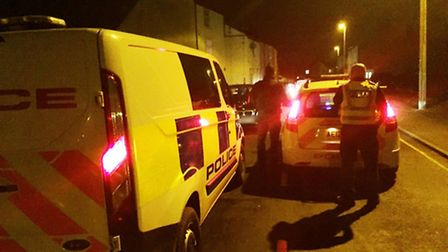 Three men arrested for assault and drink driving in Kirkgate Street, Wisbech