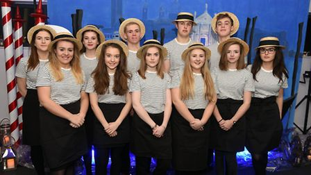 Wisbech Grammar School sixth form pupils who supported the Michaelmas Ball.