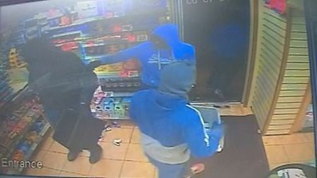CCTV from Wisbech robbery