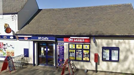 The McColl's store in Hillgate, Gedney Hill. Photo: Google Maps.