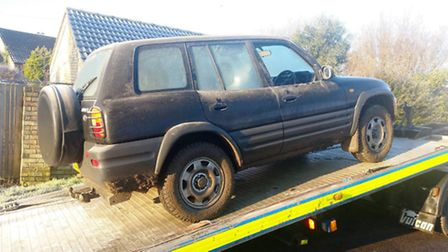 Driver disqualified for being suspected of going out hare coursing.