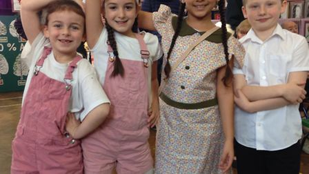Peartree Primary School's 90th birthday