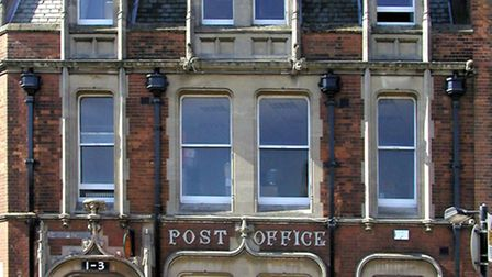 Wisbech Post office.