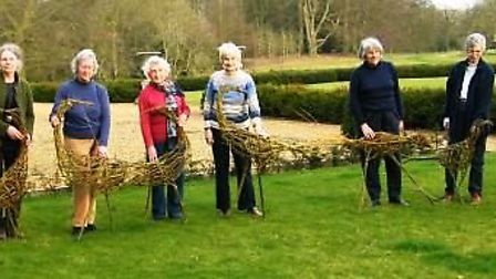 Become a willow weaver at Peckover House craft sessions.