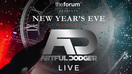 The Forum Hertfordshire presents Artful Dodger on New Year's Eve