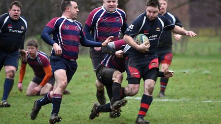 Action from Wisbech Wildcats' superb 82-10 success over Shelford 5ths.
