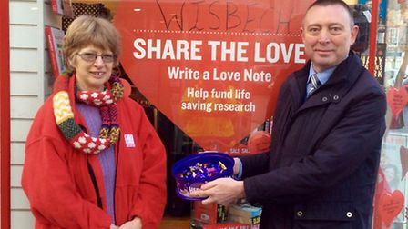Have a Heart at the Horsefair in Wisbech