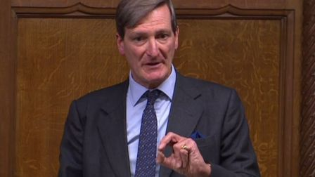 Dominic Grieve in the Commons. Picture: Parliament TV.