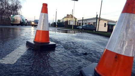 Second burst water main at Weasenham Lane in Wisbech