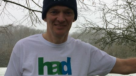 Gary O'Leary will be taking on the London Marathon to raise cash for Welwyn Garden City based charit