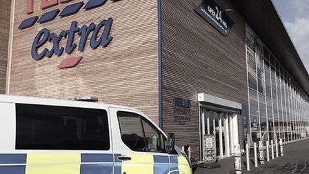 Man arrested and charged with theft after staff at Tesco Wisbech catch him trying to steal £1,000 wo