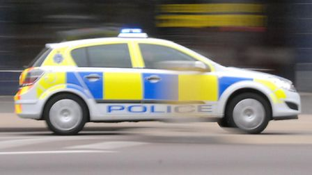 Road closed at A47 Thorney bypass after collision between two vans, low loader and car