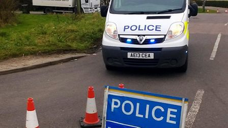 Four people were treated by ambulance crews yesterday after reports of a suspected chemical leak in