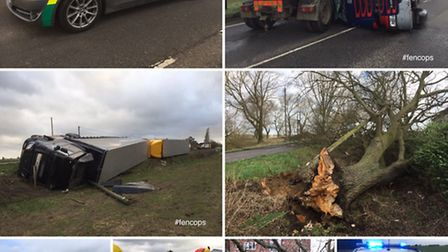 Cambridgeshire Highways, U.K. Power networks, BT, Magpas, Cambs Fire & Rescue and the East of Englan