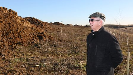 Chairman of the WGC Society Tony Grice is concerned with plans for the proposed major housing develo