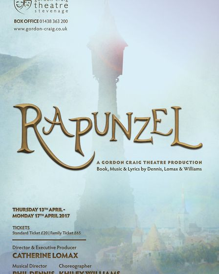 New musical Rapunzel can be seen at the Gordon Craig Theatre in Stevenage this Easter