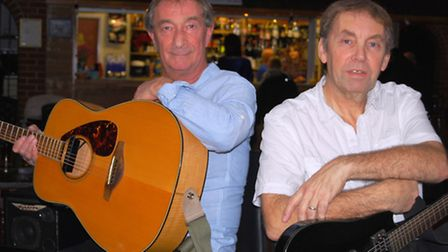 Musical duo Azimuth will play songs from the 1950's through to the present day at Leverington Sports
