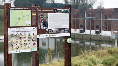 The new path begins at the Tydd Pumping Station and finishes at Church Lane Bridge in Tydd St Giles.
