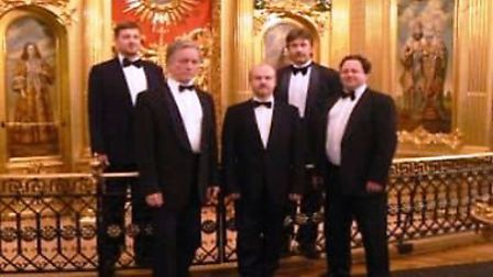 The Hermitage Ensemble Male Voice Choir will perform a concert of Russian Orthodox and Folk Music at