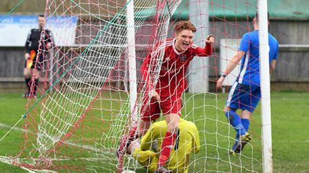 Liam Adams scored his second goal in three days but couldn't guide Wisbech Town to Invitation Cup su