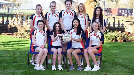 Wisbech Grammar School U14A Netball Team has been in fine form this season and recently beat Bedford