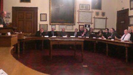 On Monday February 27, Wisbech Town Council was greeted by a group of protestors and calls for the r