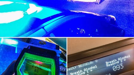 A man who was more than twice the legal limit was arrested on suspicion of drink driving in Sutton R